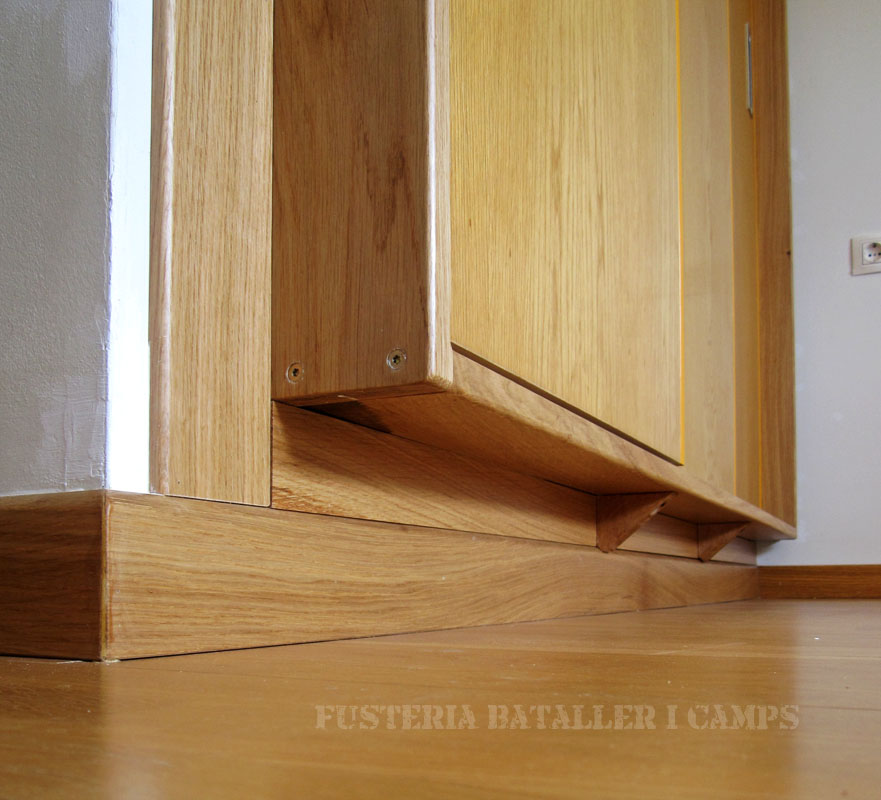 Transformacio moble portes obertura normal a correderes inferior