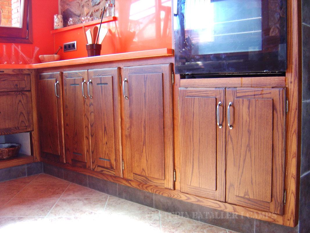 Cuina rustica taronja Freixa armaris 2