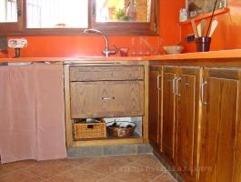 Cuina rustica taronja Freixa armaris 3