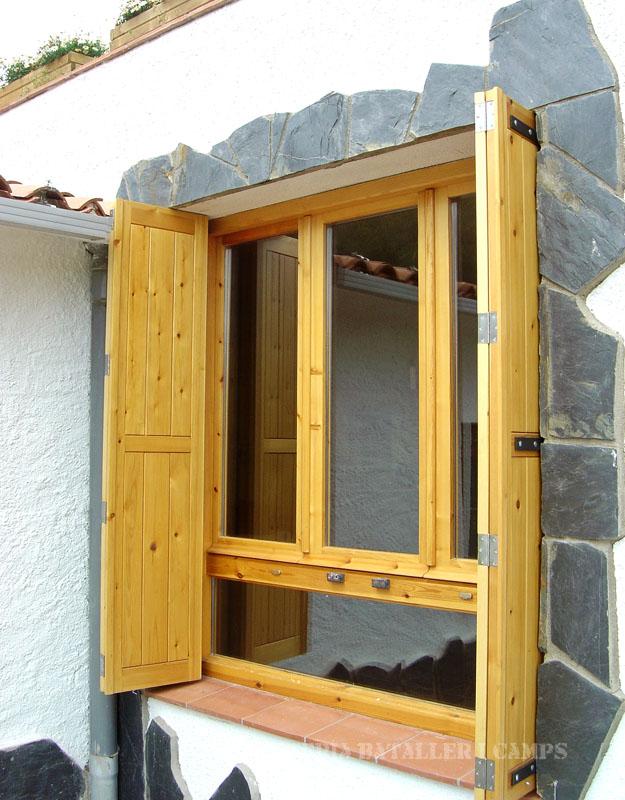 Conjunt finestres Pi exterior