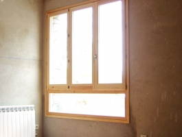 Conjunt finestres Pi interior
